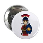 "Cute Little Roman Soldier 2.25"" Button"