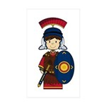Cute Little Roman Soldier Sticker (10 Pk)