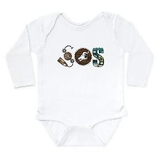 Cool The dragon boat Long Sleeve Infant Bodysuit