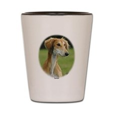 Saluki Shot Glass