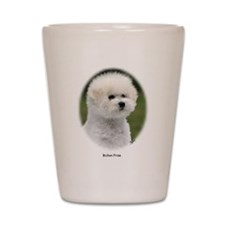 Bichon Frise 9Y362D-058 Shot Glass