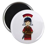"Cute Little Roman Soldier 2.25"" Magnet (10 Pk"