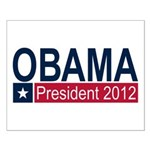 Obama President 2012 Small Poster