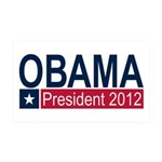 Obama President 2012 38.5 x 24.5 Wall Peel