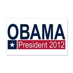 Obama President 2012 22x14 Wall Peel