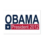 Obama President 2012 Mini Poster Print