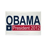 Obama President 2012 Rectangle Magnet
