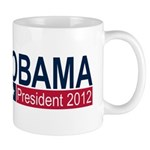 Obama President 2012 Mug