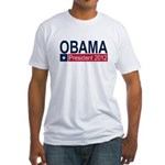 Obama President 2012 Fitted T-Shirt