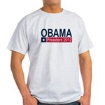 Obama President 2012 Light T-Shirt