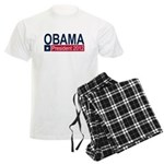 Obama President 2012 Men's Light Pajamas