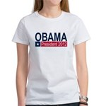 Obama President 2012 Women's T-Shirt
