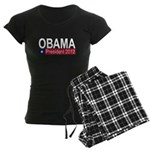 Obama President 2012 Women's Dark Pajamas