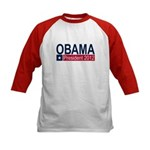 Obama President 2012 Kids Baseball Jersey