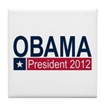 Obama President 2012 Tile Coaster