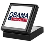 Obama President 2012 Keepsake Box