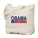 Obama President 2012 Tote Bag