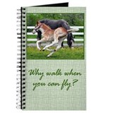 Flying Roan Horse Journal