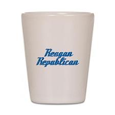 Reagan Republican (blue) Shot Glass