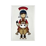 Roman Soldier Riding Horse Magnet (10 Pk)