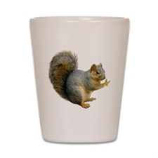 Peace Squirrel Shot Glass