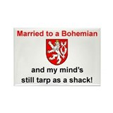 Married To A Bohemian Magnet (3&quot;x2&quot;)