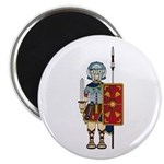 "Ancient Roman Soldier 2.25"" Magnet (10 Pk)"