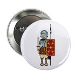 "Ancient Roman Soldier 2.25"" Button"