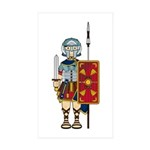 Ancient Roman Soldier Sticker (50 Pk)