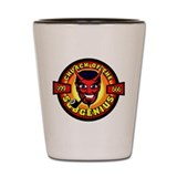 Devil Bob SubGenius Shot Glass