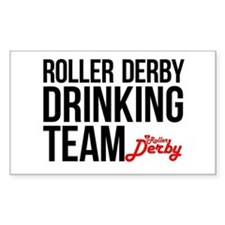 Roller Derby Drinking Team Decal