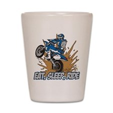 Unique Dirt biker Shot Glass