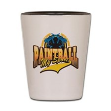 Paint Ball My Sport Shot Glass