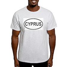 Cyprus Euro Ash Grey T-Shirt