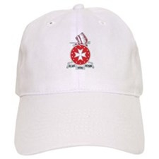 DUI - 1st Bn - 14th FA Regt with Text Baseball Cap