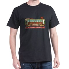 Trolley Car Dark T-Shirt