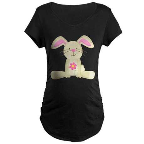 Cute Easter Bunny Maternity Holiday TShirt