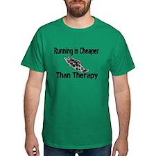 Running is cheaper T-Shirt