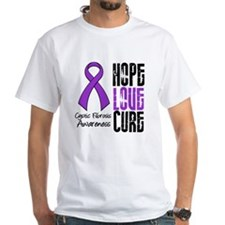 Cystic Fibrosis HopeLoveCure Shirt