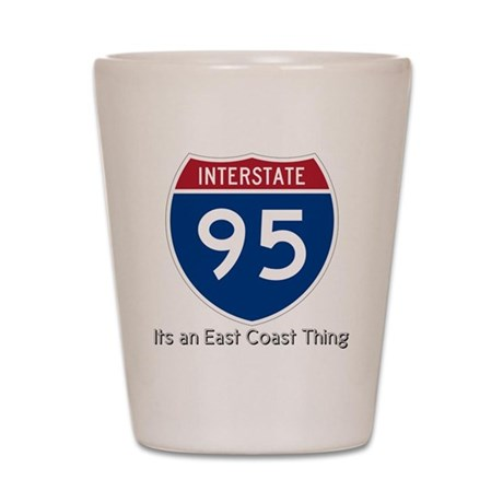Highway 95 Shot Glass