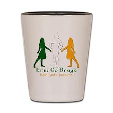 Irish Girls Forever Shot Glass
