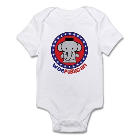 Cute Weepublican Infant Creeper