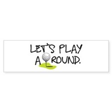 Play Around Car Sticker