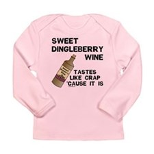 Dingleberry Wine Long Sleeve Infant T-Shirt