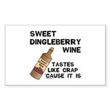 Dingleberry Wine Decal