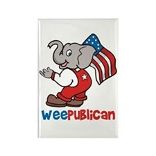 Weepublican and Flag Rectangle Magnet (100 pack)
