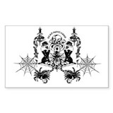 Dead Mans Hand Decal clear or white
