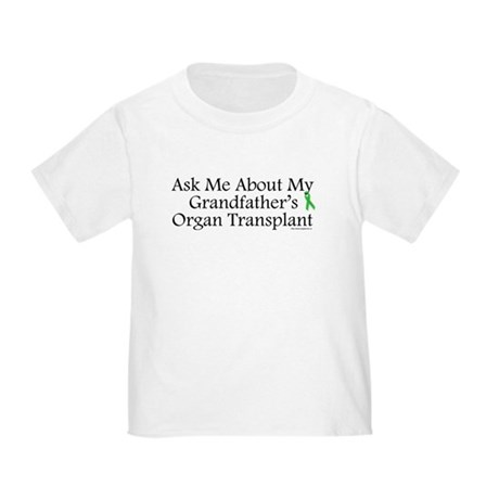 Ask Me Grandpa Trans Toddler T-Shirt