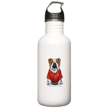 Team Bulldog Stainless Water Bottle 1.0L