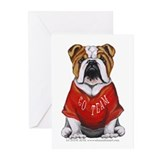 Team Bulldog Greeting Cards (Pk of 10)